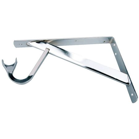 Shelf and Rod Bracket, Steel