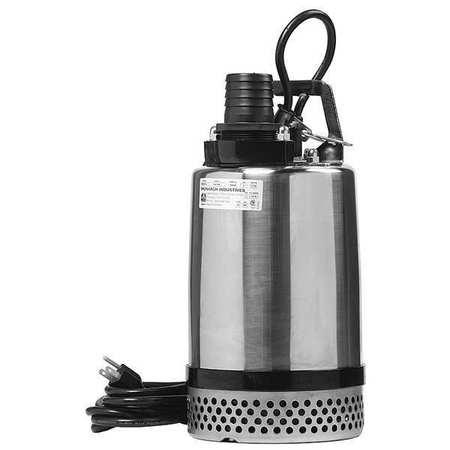 Sump Pump,  1 HP,  14 In. H