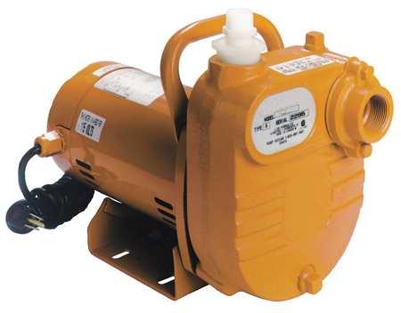 Utility Pump,  1/2 HP,  Self-Priming