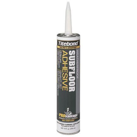 Subfloor Adhesive, 10 oz., Lt. Beige