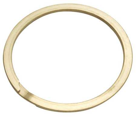 Spiral Retain Ring, Ext, 1/4 In, PK10