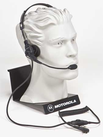 Headset, Over the Head, On Ear, Black