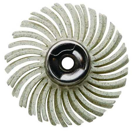 Abrasive Brush, EZ Lock, 120 Grit