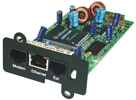 SNMP Interface Plug In Card, GT Series