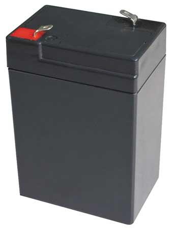 Battery, Sealed Lead Acid, 6V, 5Ah, Faston
