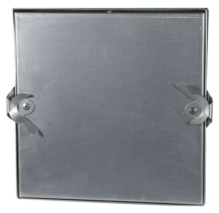 Access Door, 14 In, Square, Galvanized Stl