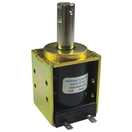 Solenoid, Box Frame, 1/8 - 1 in, Continuous,  Min. Qty 4