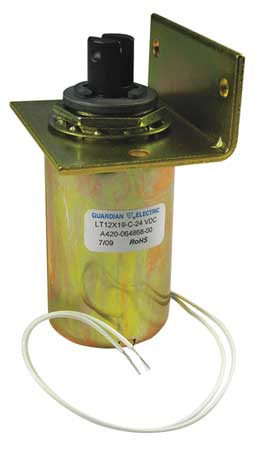 Solenoid, Tubular, 1/8 - 3/4 in, Continuous
