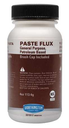 Paste Flux 4oz w Brush Cap