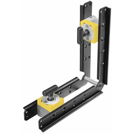 Magnetic Weld Square, 8x8in, 150lb