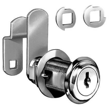 Standard Keyed Cam Lock,  Key Different