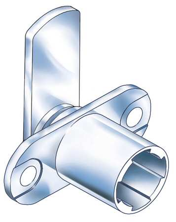 Standard Keyed Cam Lock,  Key SFIC