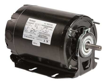 Motor, Sp Ph, 1/3 HP, 1725/1140, 115V, 48, ODP