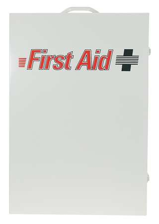 Empty First Aid Cabinet, Metal, White