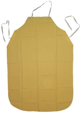 Bib Apron, Yellow, 48 In. L