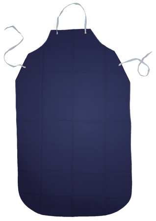 Bib Apron, Blue, 55 In. L