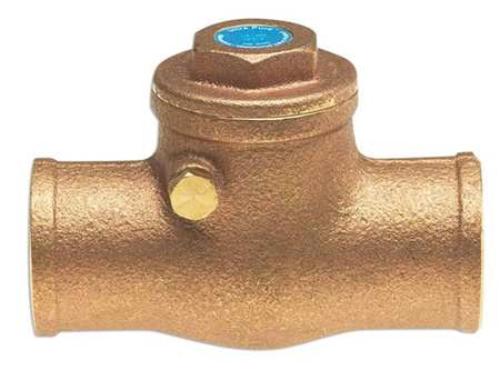 Low Lead Swing Check Valve, Bronze, 1-1/2