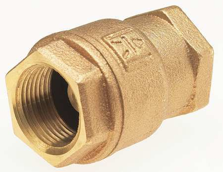 "3/4"" Threaded Low Lead Bronze Spring Check Valve"