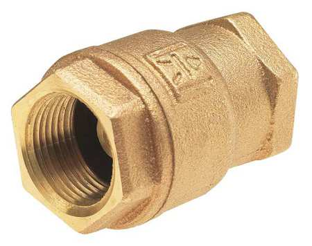 Low Lead Spring Check Valve, Bronze, 1 In.