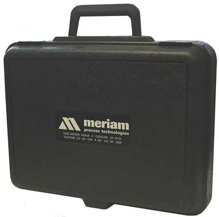 Hard Carrying Case, 3 In D, 12 In H, Black