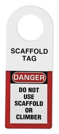 Scaffold Status Holder, 12 x 4-1/2 In.