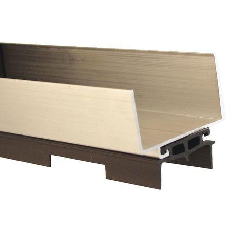 Door Bottom, 1-3/4x36 In, Aluminum Channel