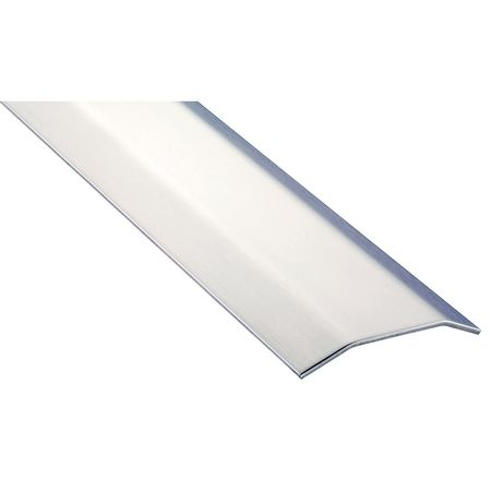 Saddle Threshold, Smooth Top, 4 ft, Brushed