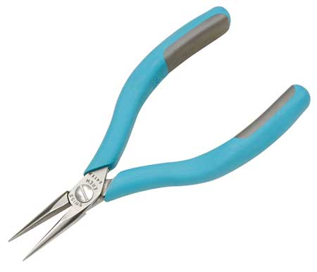 ESD Needle Nose Plier, 5-3/4 in., Smooth