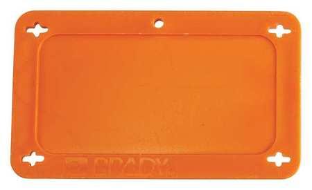 Blank Tag, 1-1/2 x 3 In, Orn, Plstc