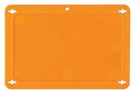 Blank Tag, 2-1/2 x 4 In, Orn, Plstc