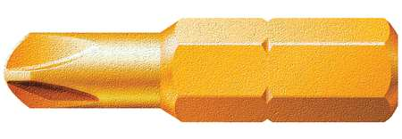 "Torsion Bit, Metric, 1/4"", Hex, 6mm, 1-1/4"""