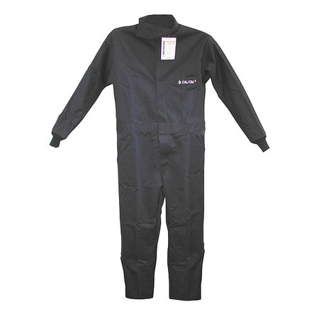 Flame-Resistant Coverall,Navy,2XL,HRC2 Playground, Tape, Gloves, Electric Parts