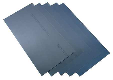 Shim Stock, Sheet, Blue Steel, 0.01 In, PK2