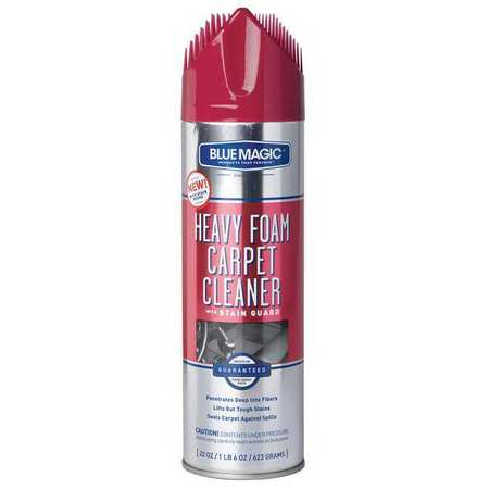Foam Carpet Cleaner w/Stain Guard, 22 oz