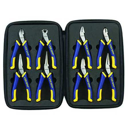 Precision Plier Set, Ergonomic, 8 Pcs.