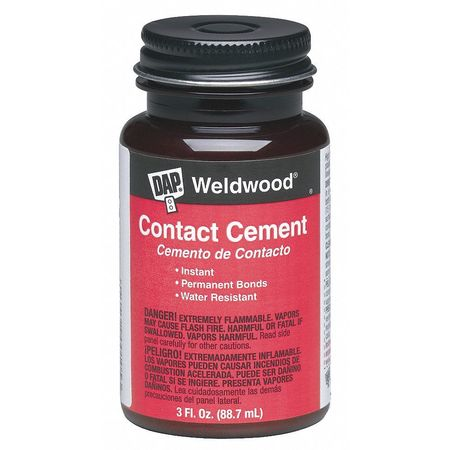 Cement, Contact, 3 Oz