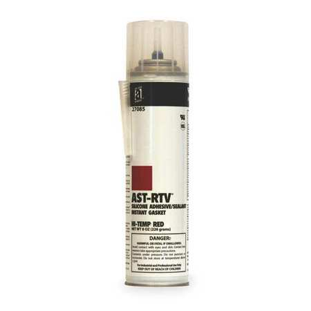 RTV Silicone Sealant, 8 oz Can, Red