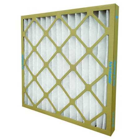 "Standard Capacity Pleated Filter,  16""x16""x1"",  MERV 7,  Min. Qty 12"