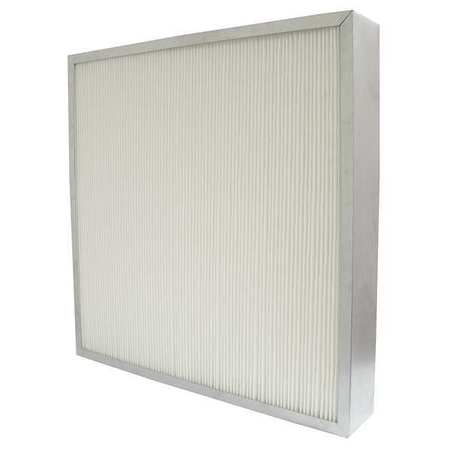"Slim Line Mini-Pleat Air Filter,  24x24x4"",  MERV 14"