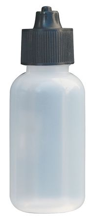 Bottle, Disposable, w/Cap, 1 oz., PK5