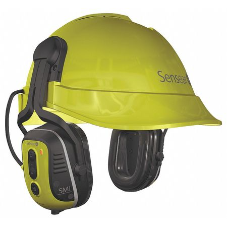 Cap-Mounted Ear Muff, 23dB, Yellow