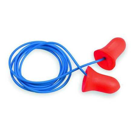 Ear Plugs, 33dB, Corded, Univ, PK100