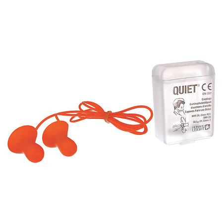 Reusable Ear Plugs, 26dB, Corded, Med, PK50