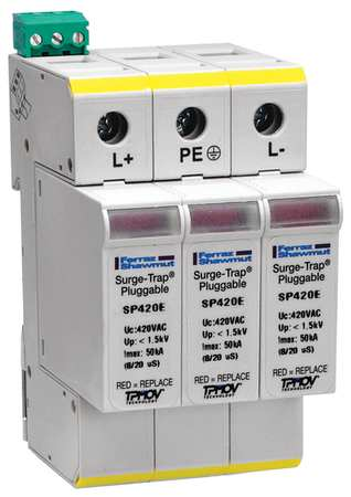 Surge Protection Device, PV Phase, 600VDC