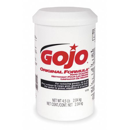 GOJO Hand Cleaner, Fragrance Free, PK6
