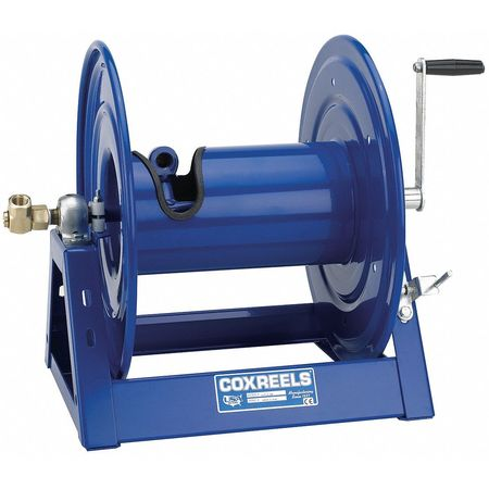 Hose Reel, Hand Crank, 3/4 In ID x 100 Ft