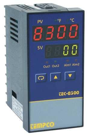 Temp Ctrl, 90-264VAC, 1/8Din, 4-20mA/3Relay