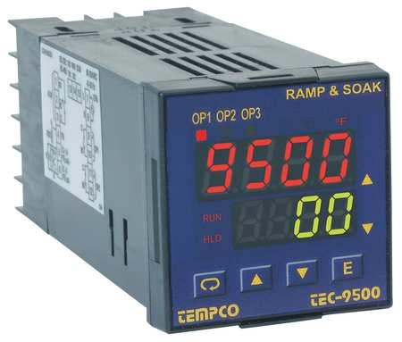 Temp Ctrl, 90-250VAC, 1/16Din, (1)2AOutput
