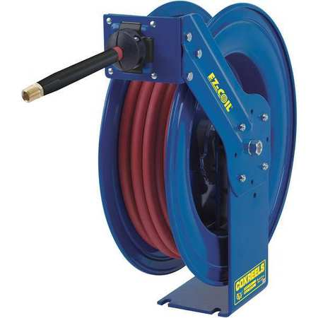 "Hose Reel, Spring, 1/2"", 50 ft"