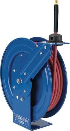 "1/2"" x 50 ft. Spring Driven Hose Reel with Hose 300 psi"